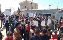 مظاهرة بعنوان: يا درعا سامحينا ((وَإِنِ اسْتَنصَرُوكُمْ فِي الدِّينِ فَعَلَيْكُمُ النَّصْرُ))  في تجمع مخيمات أطمة الغربية - ريف إدلب / الجمعة 03/09/2021م